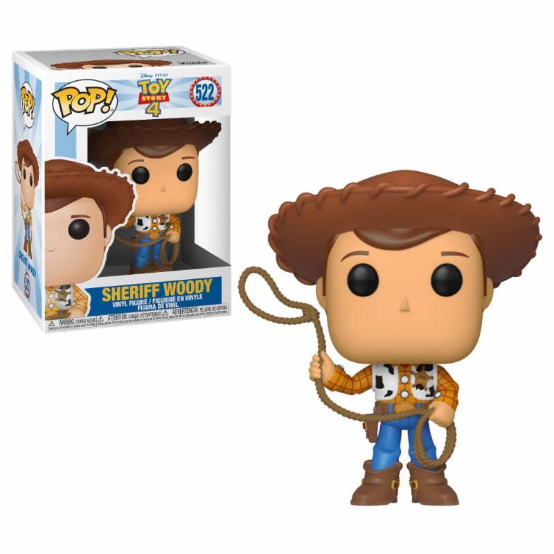 TOY STORY 4 - Bobble Head POP N° 522 - Woody