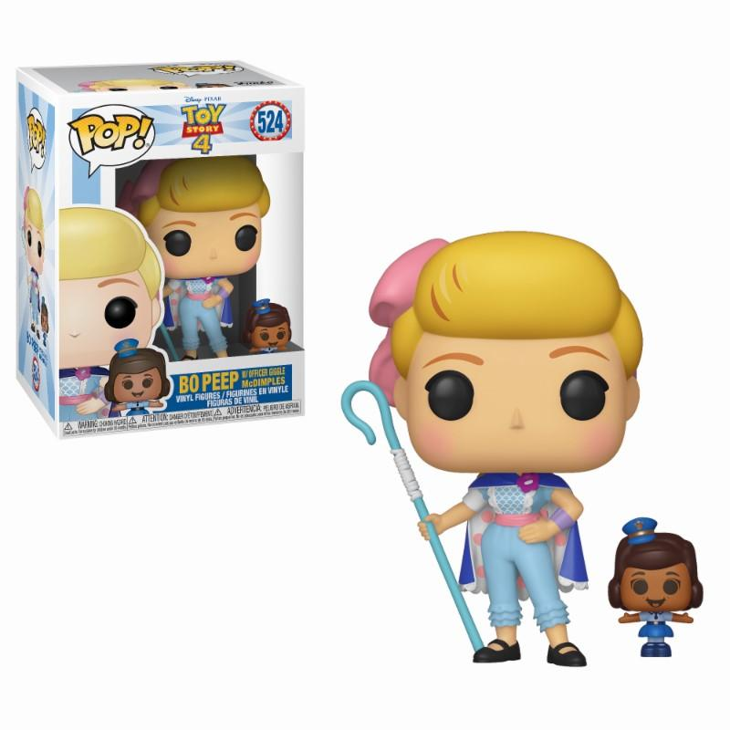 TOY STORY 4 - Bobble Head POP N° 524 - Bo Beep w/Officer McDimples