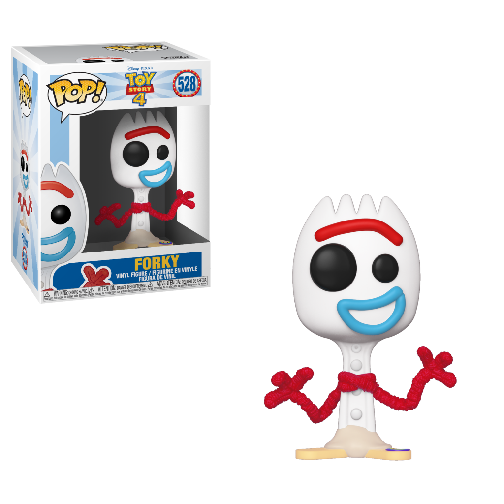 DISNEY - Toy Story 4 - Bobble Head POP N° 528 - Forky