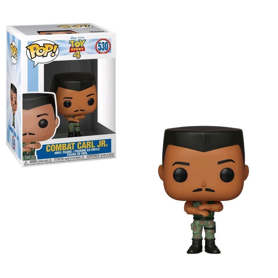 TOY STORY 4 - Bobble Head POP N° 530 - Combat Carl JR.