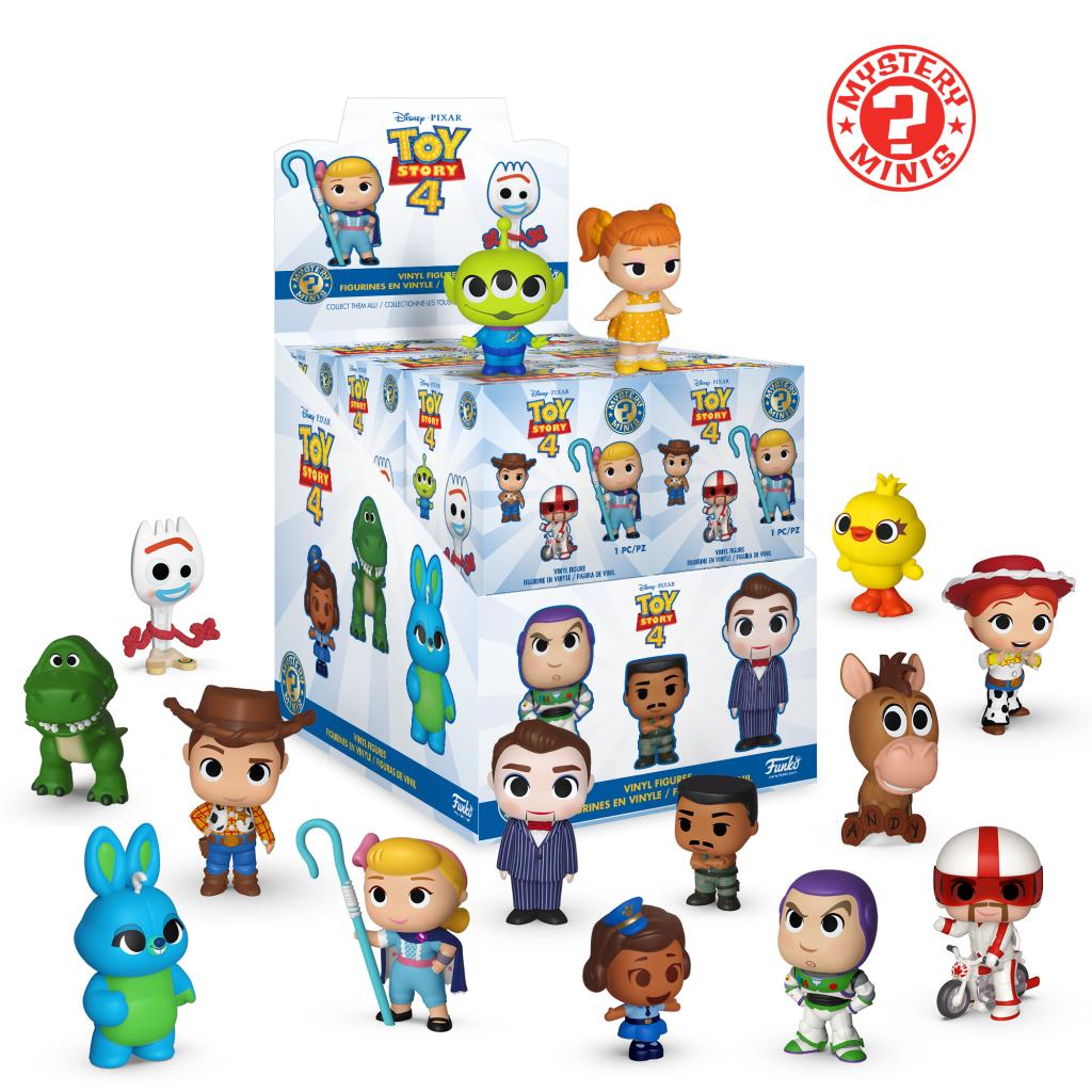 DISNEY - Mystery Minis Toy Story 4 (BOX 12 Figurines)