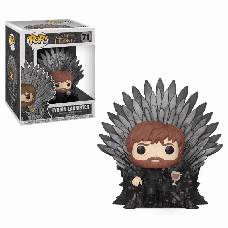 GAME OF THRONES - Bobble Head POP N° xxx - Tyrion Throne OVERSIZE