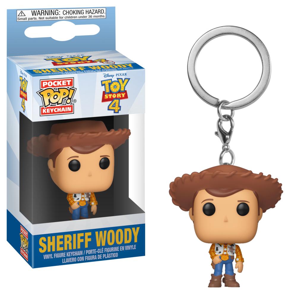 Pocket Pop Keychains : Toy Story 4 - Sheriff Woody