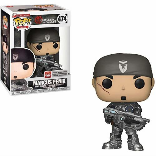 GEARS OF WAR - Bobble Head POP N° 474 - Marcus