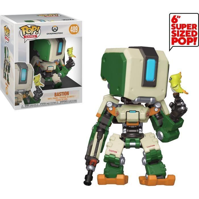 OVERWATCH - Bobble Head POP N° 489 - Bastion OVERSIZE