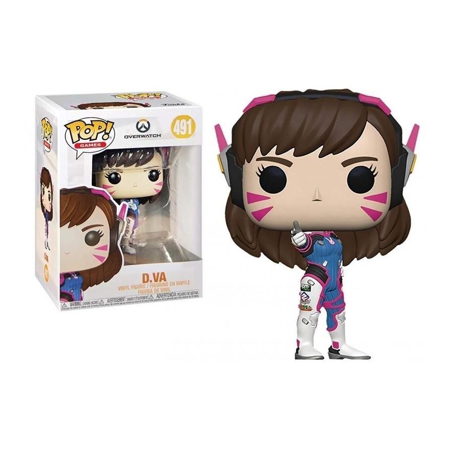 OVERWATCH - Bobble Head POP N° 491 - D.Va