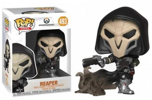 OVERWATCH - Bobble Head POP N° 493 - Reaper Wraith