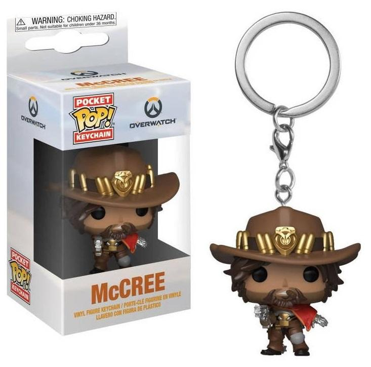 Pocket Pop Keychains : Overwatch - McCree