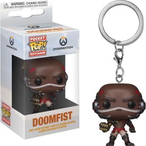 Pocket Pop Keychains : Overwatch - Doomfist