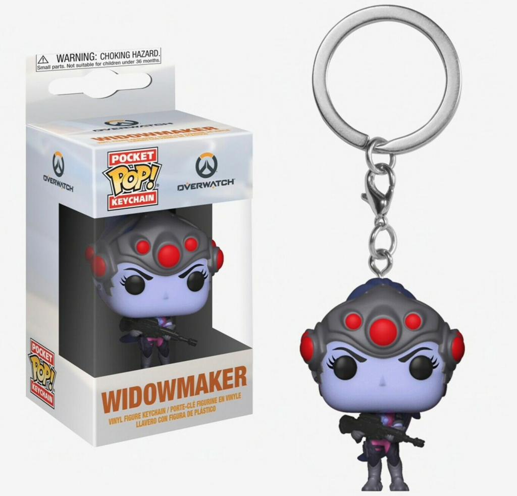 Pocket Pop Keychains : Overwatch - Widowmaker