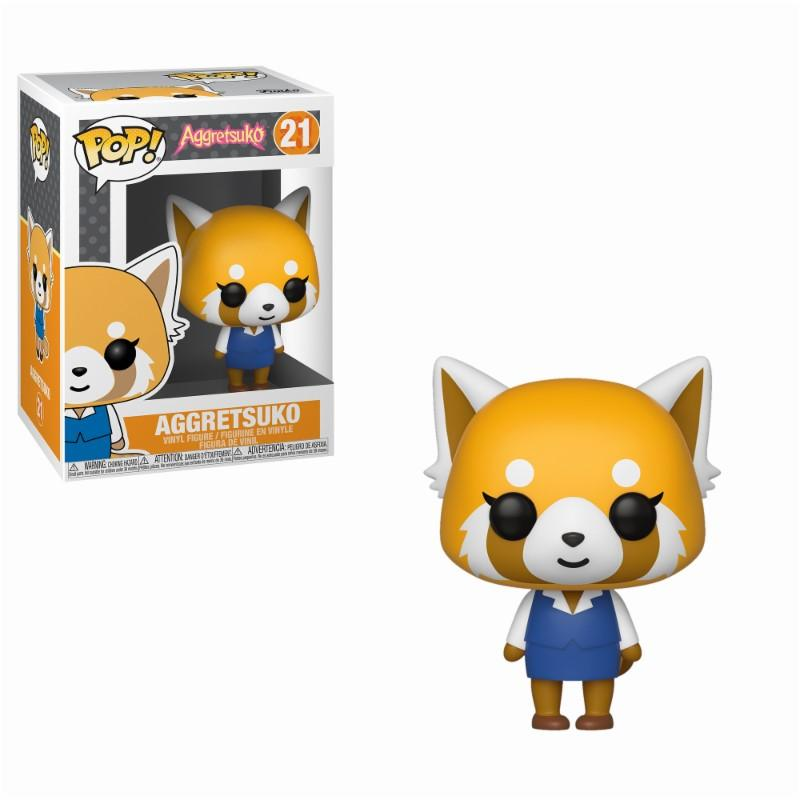AGGRETSUKO - Bobble Head POP N° 21 - Aggretsuko