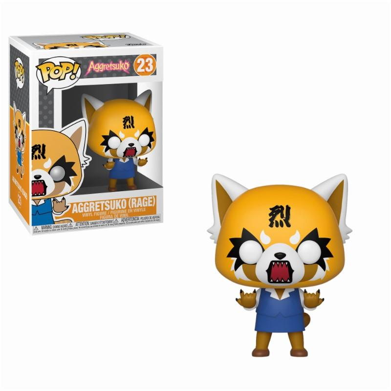 AGGRETSUKO - Bobble Head POP N° 23 - Rage Aggretsuko