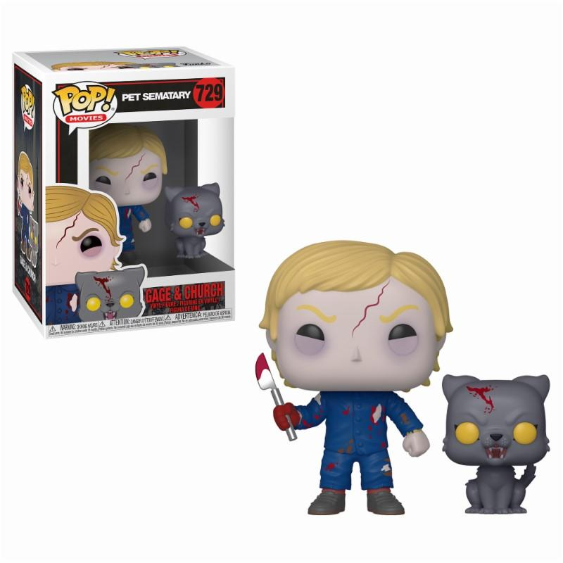 PET SEMATARY - Bobble Head POP N° 729 - Undead Gage and Church