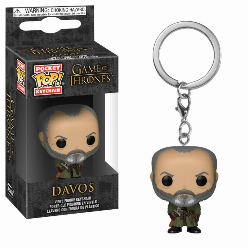 Pocket Pop Keychains : Game of Thrones - Davos