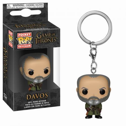 Pocket Pop Keychains : Game of Thrones - Davos
