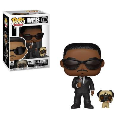 MEN IN BLACK - Bobble Head POP N° 715 - Agent J and Frank