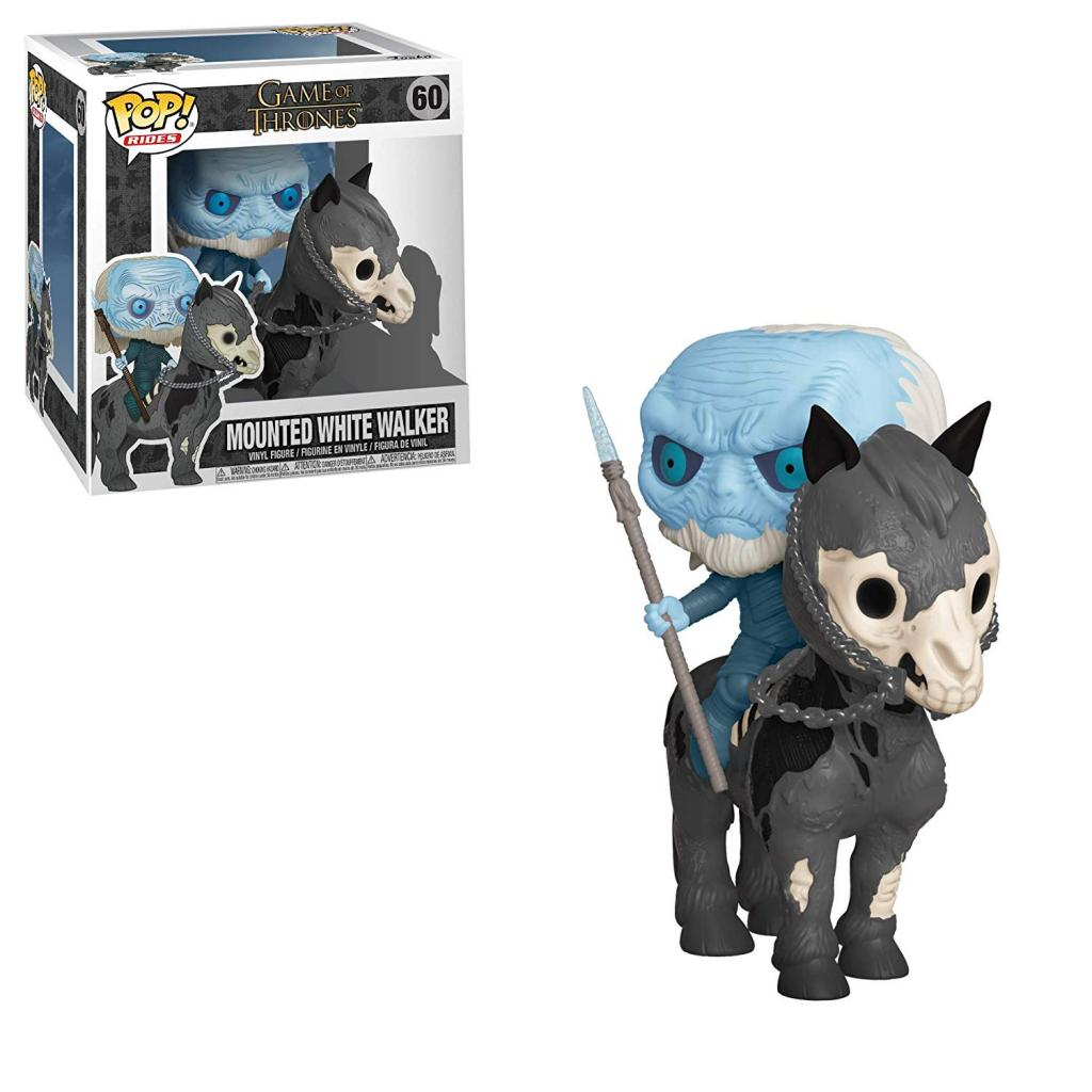 GAME OF THRONES - Bobble Head POP Ride N° 60 - White Walker with Horse