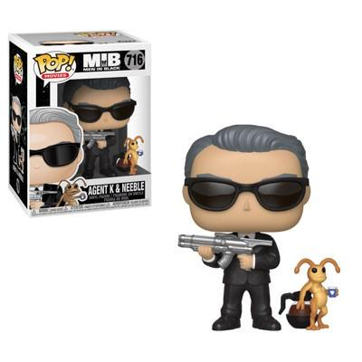MEN IN BLACK - Bobble Head POP N° 716 - Agent K & Neeble