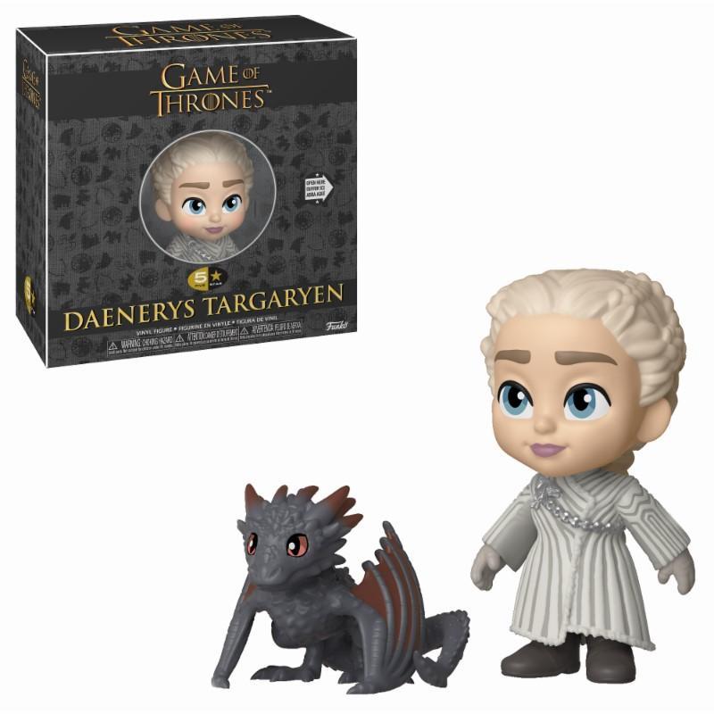 GAME OF THRONES - 5 Star Vinyl Figure 8 cm - Daenerys Targaryen