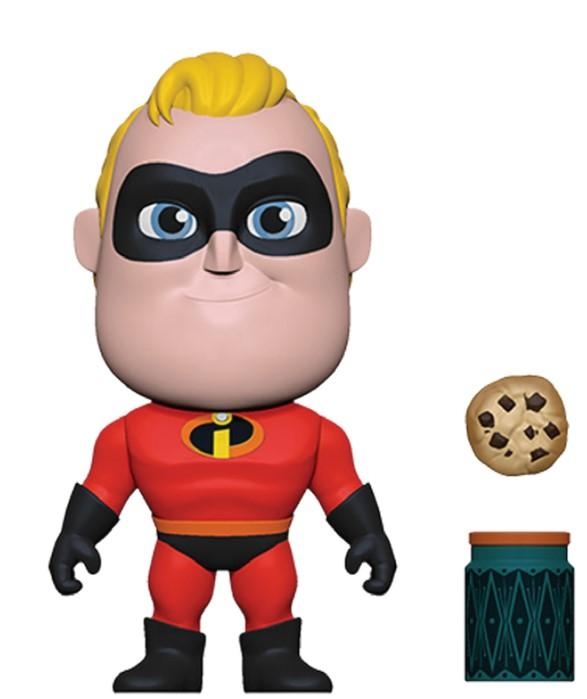 DISNEY - 5 Star Vinyl Figure 8 cm - Incredible 2 - Mr. Incredible