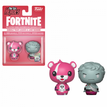 FORTNITE - 2 Pint Size Heroes Figures - Cuddle & Love Ranger - 6cm