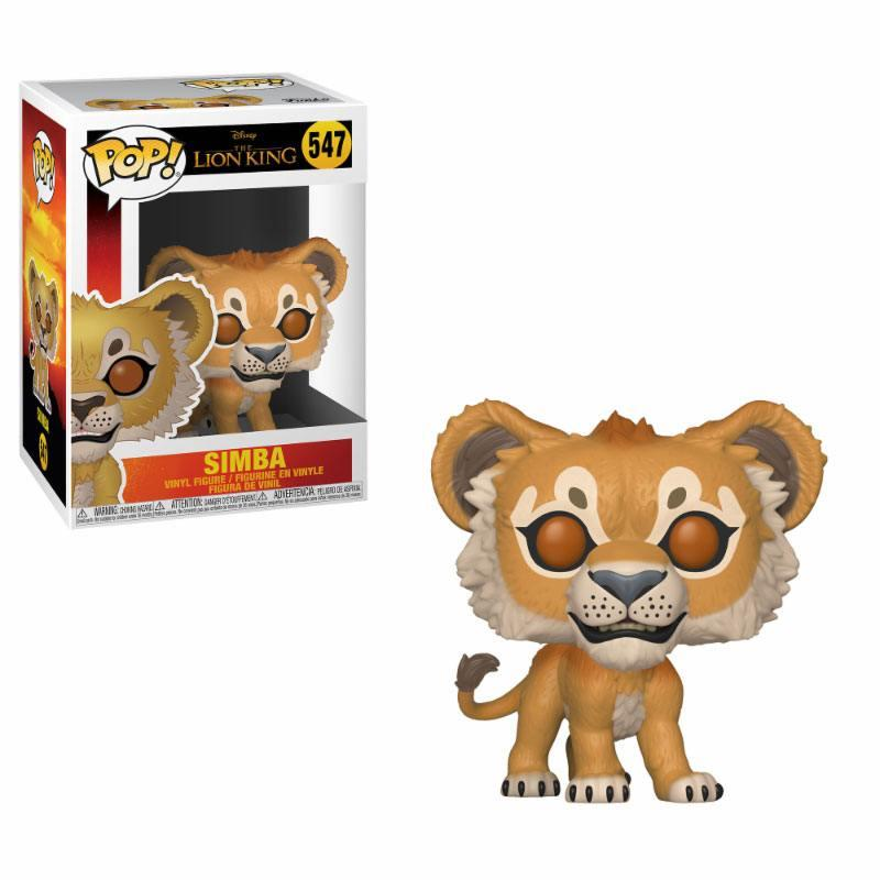 LE ROI LION - Bobble Head POP N° 547 - Simba