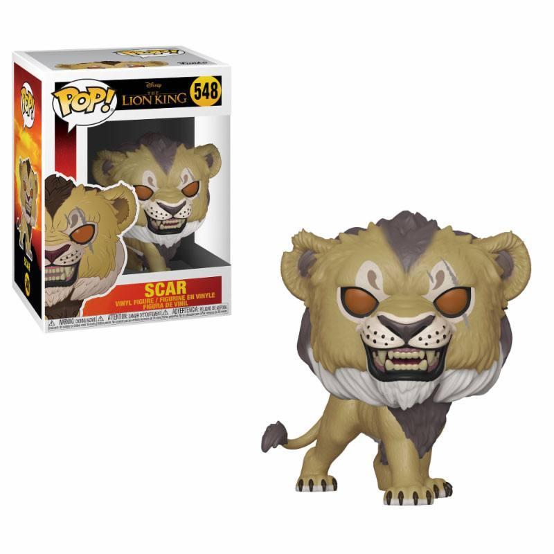 LE ROI LION - Bobble Head POP N° 548 - Scar