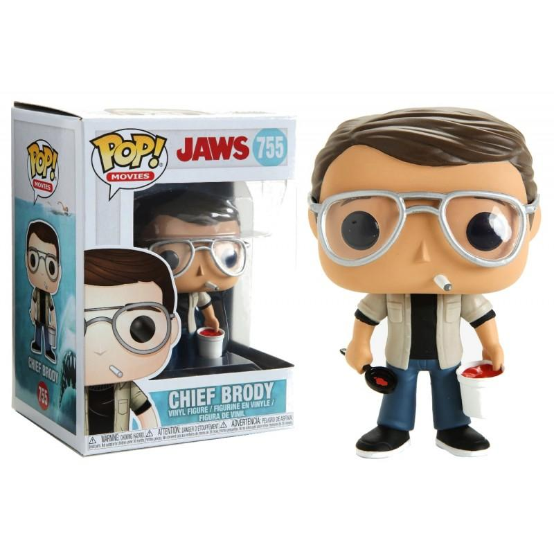 JAWS - Bobble Head POP N° 755 - Chief Brody