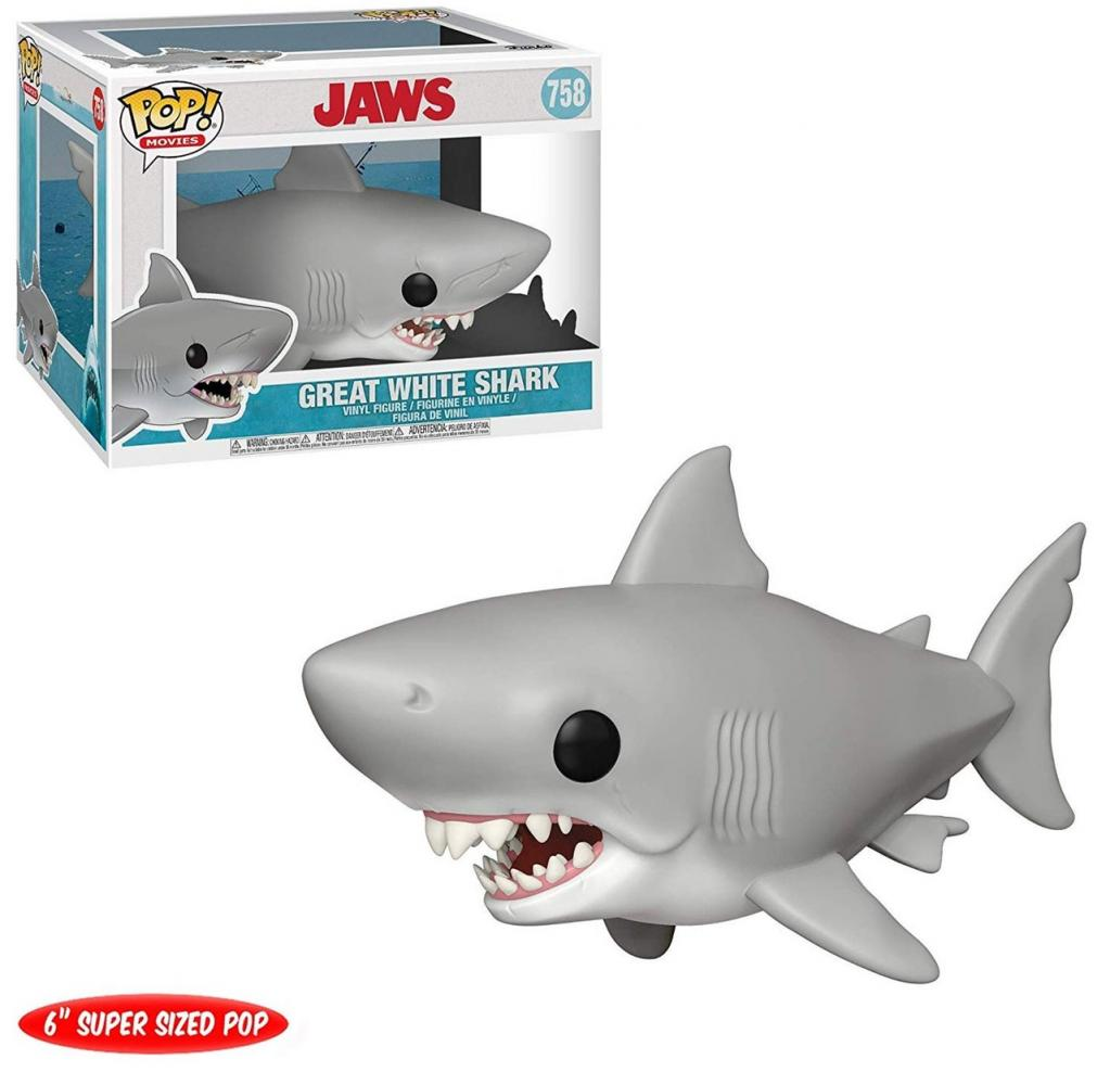 JAWS - Bobble Head POP N° 758 - Jaws OVERSIZE