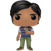 BIG BANG THEORY Saison 2 - Bobble Head POP N° 781 - Raj