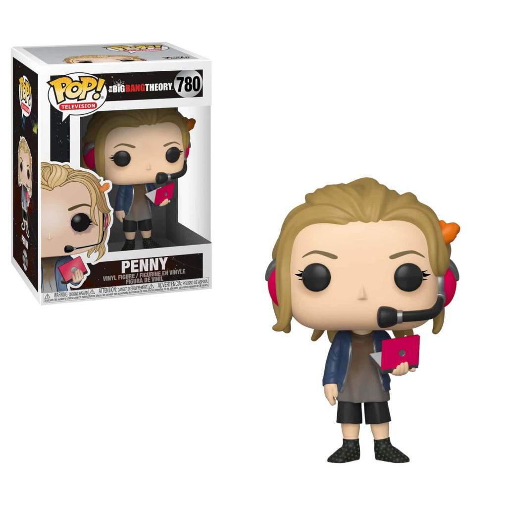 BIG BANG THEORY Saison 2 - Bobble Head POP N° 780 - Penny