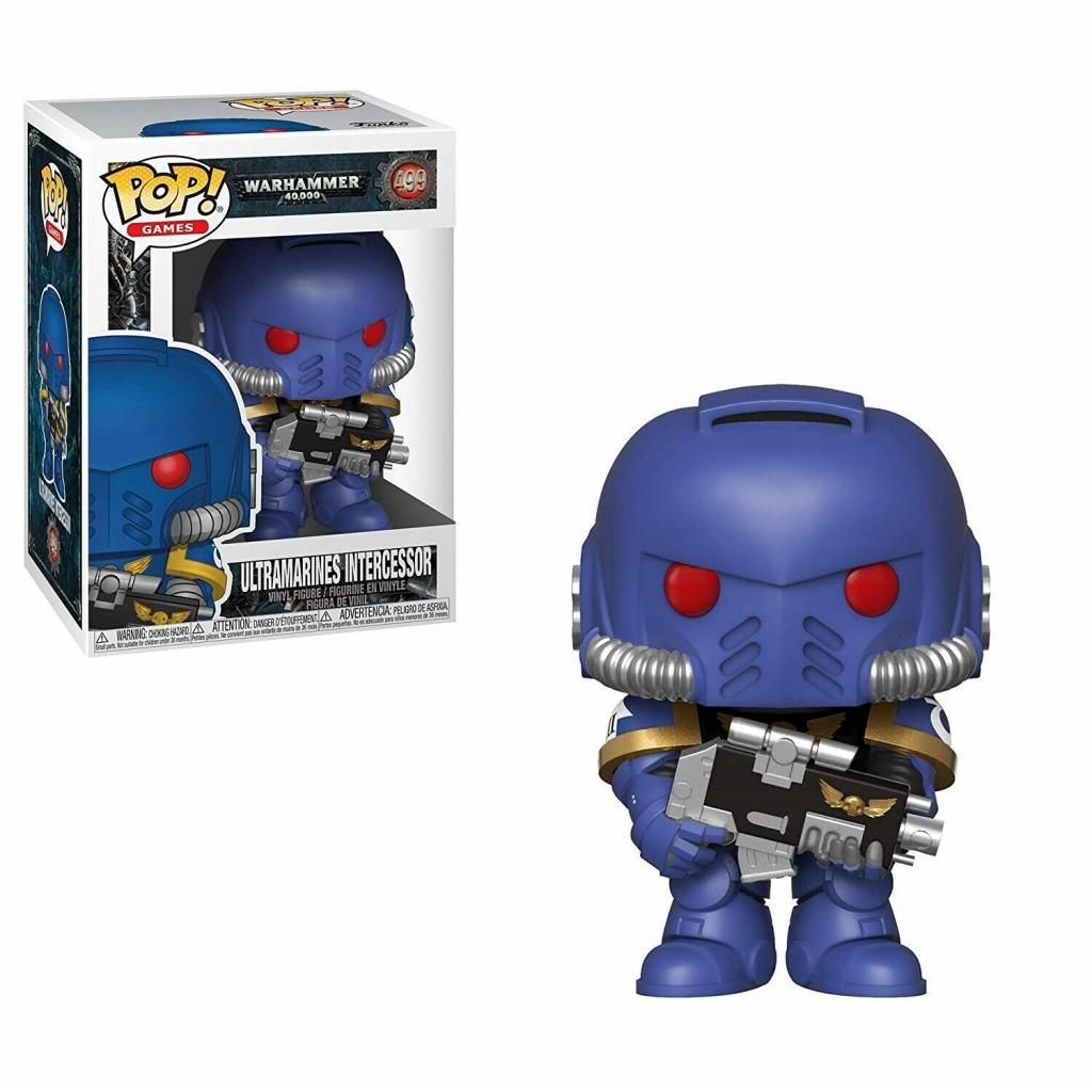 WARHAMMER 40K - Bobble Head POP N° 499 - Ultramarines Intercessor