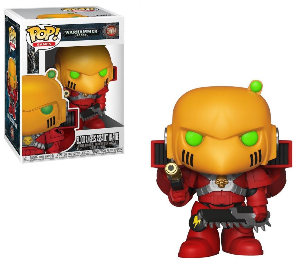 WARHAMMER 40K - Bobble Head POP N° 500 - Blood Angels Assault