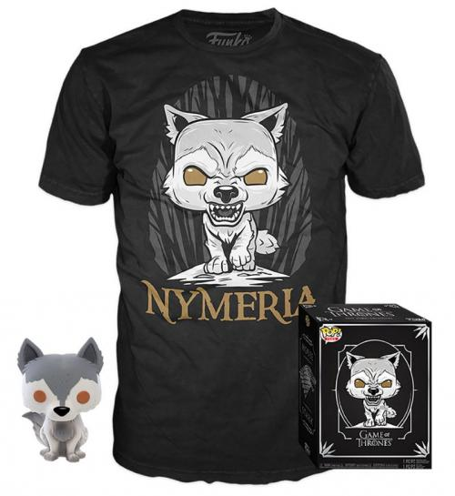 GAME OF THRONES - Boxed T-Shirt POP + POP - Nymeria (XXL)