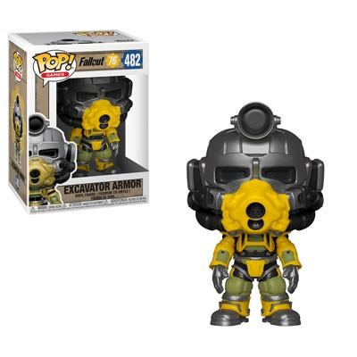 FALLOUT 76 - Bobble Head POP N° 482 - Excavator Power Armor