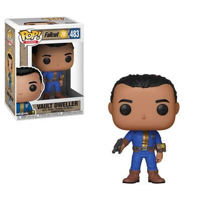 FALLOUT 76 - Bobble Head POP N° 483 - Vault Dweller Male