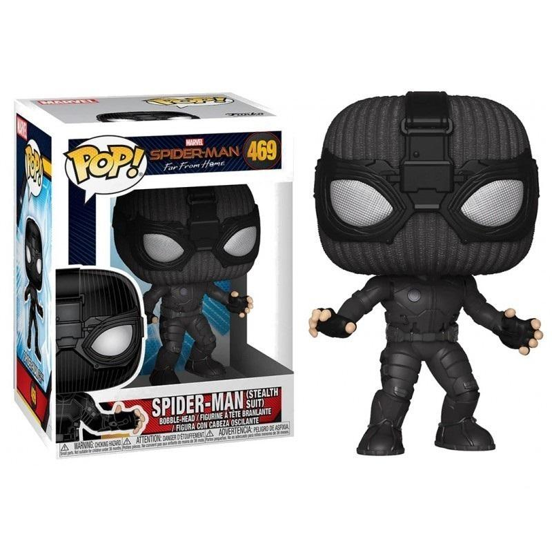 MARVEL FAR FROM HOME - Bobble Head POP N° 469 - Stealth Suit Spiderman