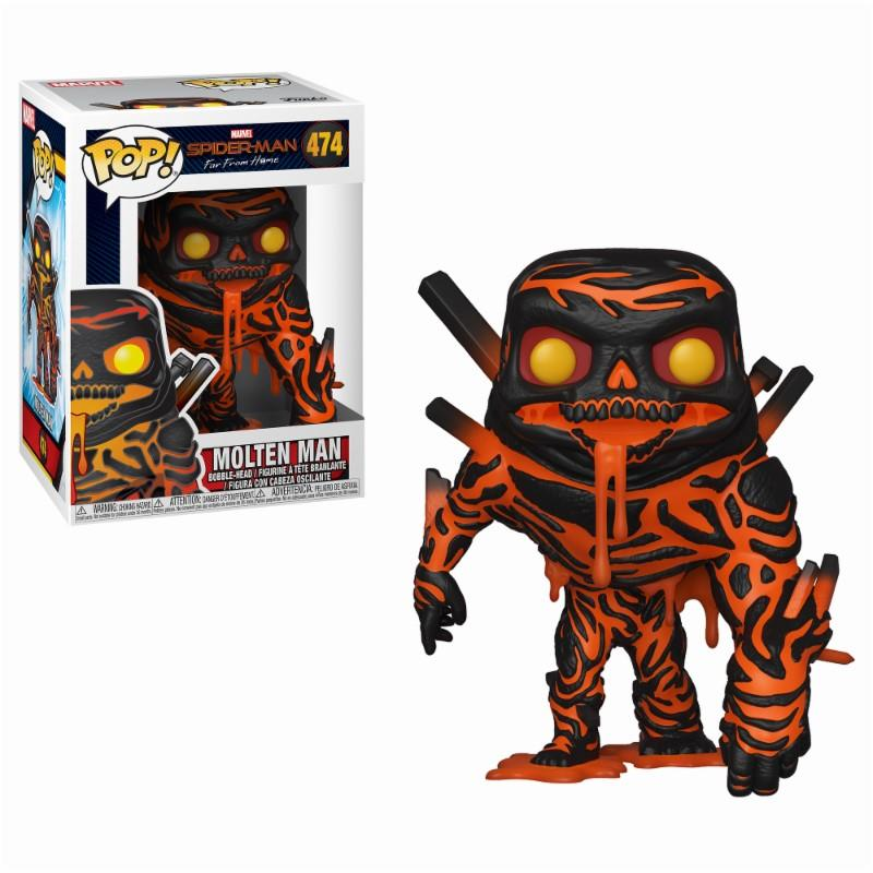 MARVEL FAR FROM HOME - Bobble Head POP N° 474 - Molten-Man_1