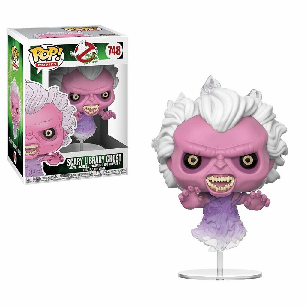 GHOSTBUSTERS - Bobble Head POP N° 746 - Scary Library Ghost_1