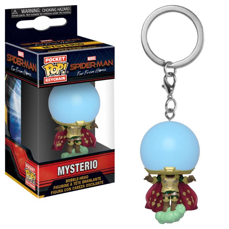 Pocket Pop Keychains : Marvel - Spiderman Far From Home - Mysterio