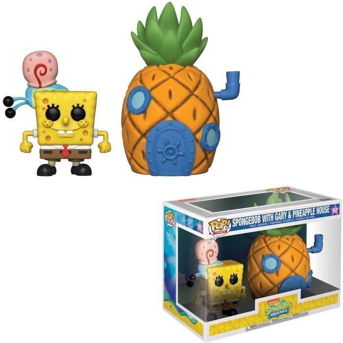 SPONGEBOB - Bobble Head POP TOWN N° xx - Spongebob with Pineapple