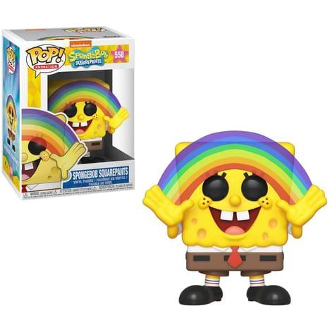 SPONGEBOB - Bobble Head POP N° xxx - Spongebob - Rainbow