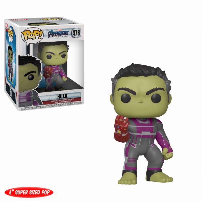 AVENGERS ENDGAMES - Bobble Head POP N° 478 - Hulk OVERSIZE