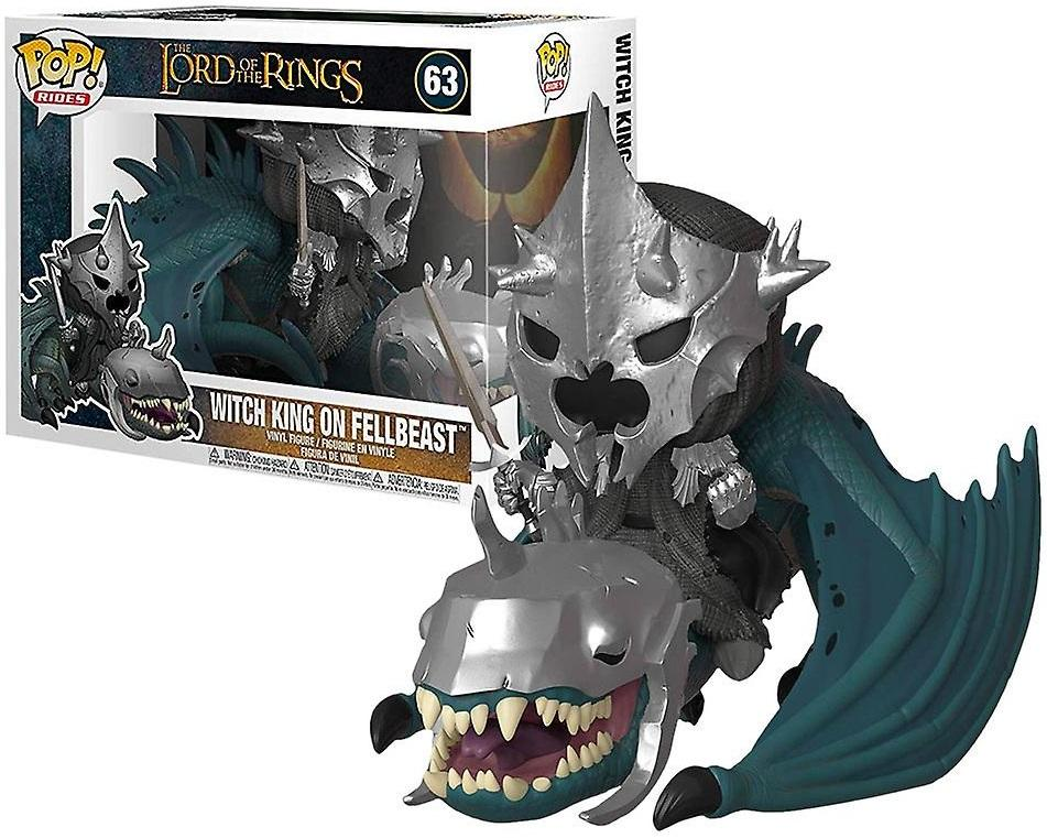 LORD OF THE RINGS - Bobble Head POP Ride N° 63 - Witch King/Fellbeast