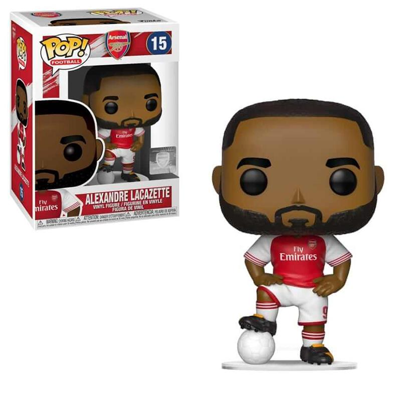 FOOTBALL - Bobble Head POP N° 15 - Alexandre Lacazette 'Arsenal'
