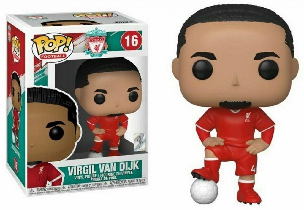 FOOTBALL - Bobble Head POP N° 16 - Virgil Van Dijk 'Liverpool'