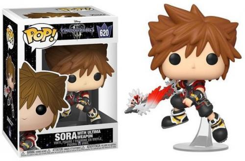KINGDOM HEARTS 3 - Bobble Head POP N° 620 - Sora with Ultima Weapon