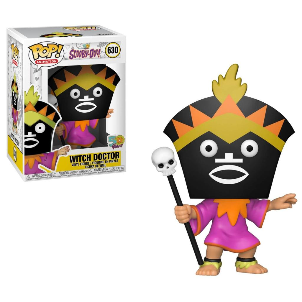 SCOOBY DOO - Bobble Head POP N° xxx - Witch Doctor