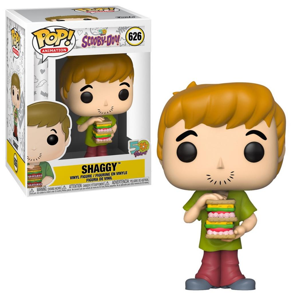 SCOOBY DOO - Bobble Head POP N° xxx - Shaggy with Sandwich