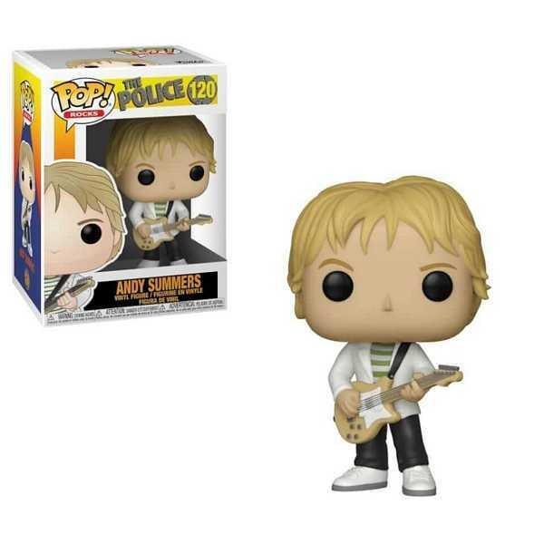 THE POLICE - Bobble Head POP N° xxx - Andy Summers